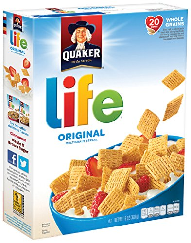Review Quaker Life Breakfast Cereal