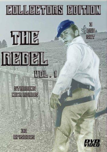 The Rebel-Johnny Yuma-TV SERIES-3 DVD SET-30 Episodes-Starring Nick Adams