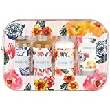 Heathcote & Ivory Vintage Pattern & Petals Travel Kit (PACK OF 4)