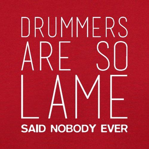 Nobody Are Drummers Red So Flight Lame Dressdown Bag Ever Said Retro qRWa4cn