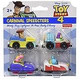 Disney Pixar Toy Story 4 Pack de 4 Vehículos para Niños de 2 años en Adelante Vehicle