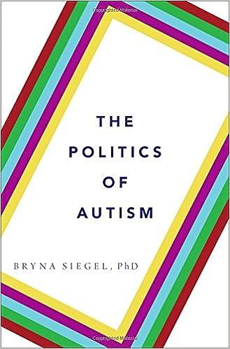 Regional Autism Rates Point To Impact >> The Politics Of Autism Bryna Siegel 9780199360994 Amazon Com Books