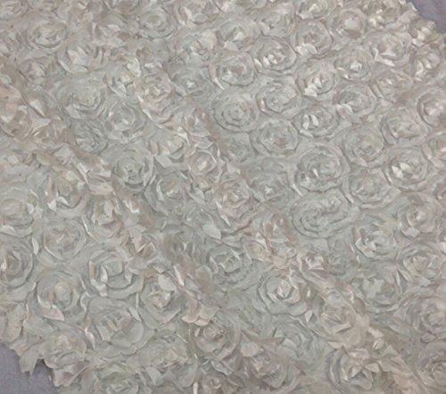 (Aimeart Wedding Accessories 3D Rose Aisle Carpet Runner Tablecloth 51