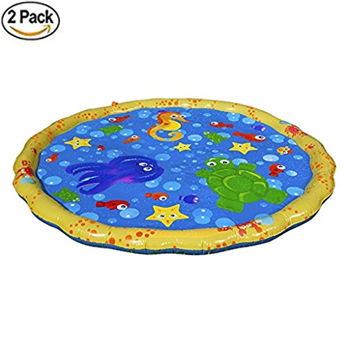 W Shig Diameter Sprinkle And Splash Play Mat For Outdoor