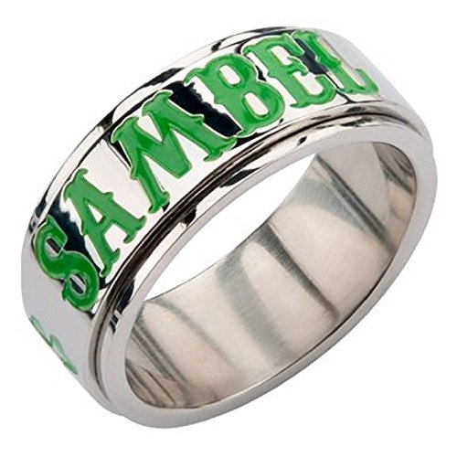 Sons of Anarchy Stainless Steel Spinner Ring with