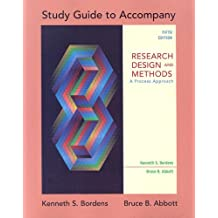 Study Guide for use with Research Design and Methods