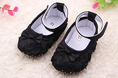 Amazon.com : Liroyal Cute Newborn Baby Girl First Walking Shoes ...