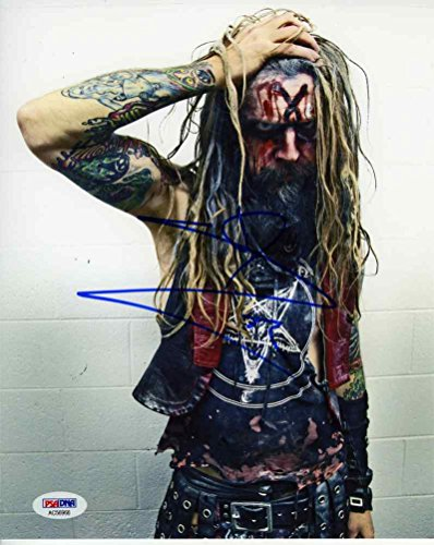 Rob Zombie Nice Signed 8x10 Photo Certified Authentic PSA/DNA COA - Nice Autograph