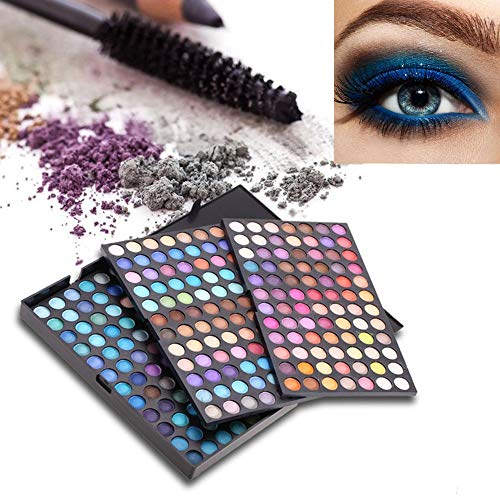 Popfeel 252 Colors Makeup Eyeshadow Palette - Professional Matte Powder Makeup Palette with Intense Pigment