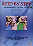 Step by Step 2a - An Introduction to Successful Practice for Violin: Book & CD