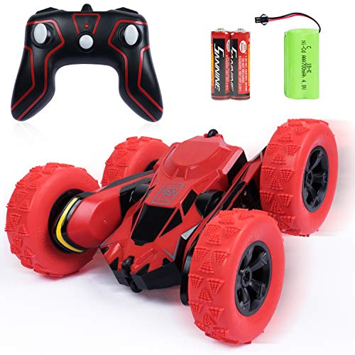 SGILE RC Stunt Car Toy - 15 KM/H Extreme High Speed 2.4GHz 2WD Remote...