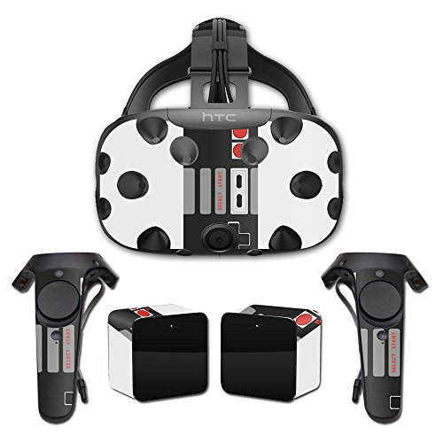 MightySkins Skin For HTC Vive Full Coverage - Retro Gamer 3 | Protective, Durable, and Unique Vinyl Decal wrap cover | Easy To Apply, Remove, and Change Styles | Made in the USA by MightySkins