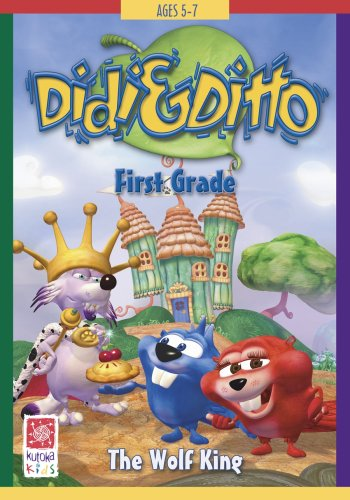Didi and Ditto: First Grade: The Wolf King Win/Mac by Kutoka US Software