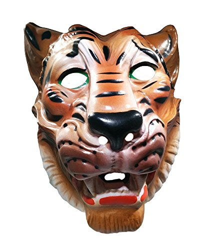 Nicky Bigs Novelties Vintage Plastic Cute Assorted Animals Masks Costume Accessory Fun Adult -