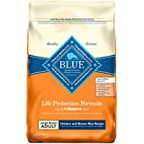 Blue Buffalo Life Protection Formula Natural Adult Large Breed Dry Dog Food, Chicken and Brown Rice 30-lb