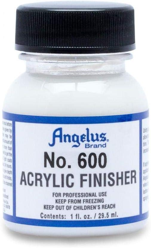 Sellador Angelus Acrylic 605 terminació satinada 1 oz