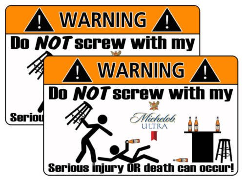 michelob-ultra-beer-warning-sticker-decal-funny-guy