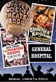 Mystery Science Theater 3000: Serial Variety Pack (General Hospital / Undersea Kingdom / The Phantom Creeps)