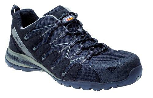 Super Dickies tíber zapatillas de seguridad negro