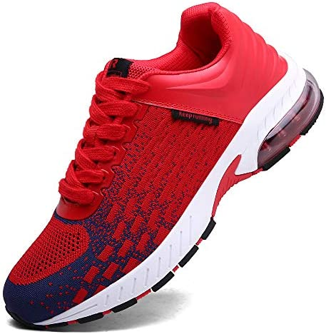 XIDISO Running Shoes Mens Women Air Trail Mesh Sneakers Athletic Walking Cross Training Tennis Sports Shoe for Men
