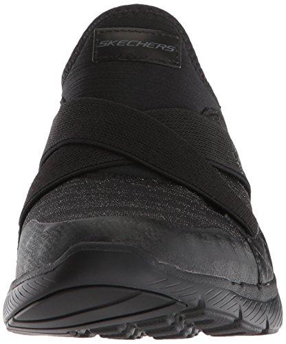 Femme Enfiler Hour black Skechers Noir 0 Appeal Bbk finest Flex 3 Baskets qxXO8w0Xv