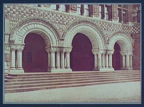 Photo: Entrance,Law School,Harvard University,Massachusetts,MA,Detroit Publishing,c1900