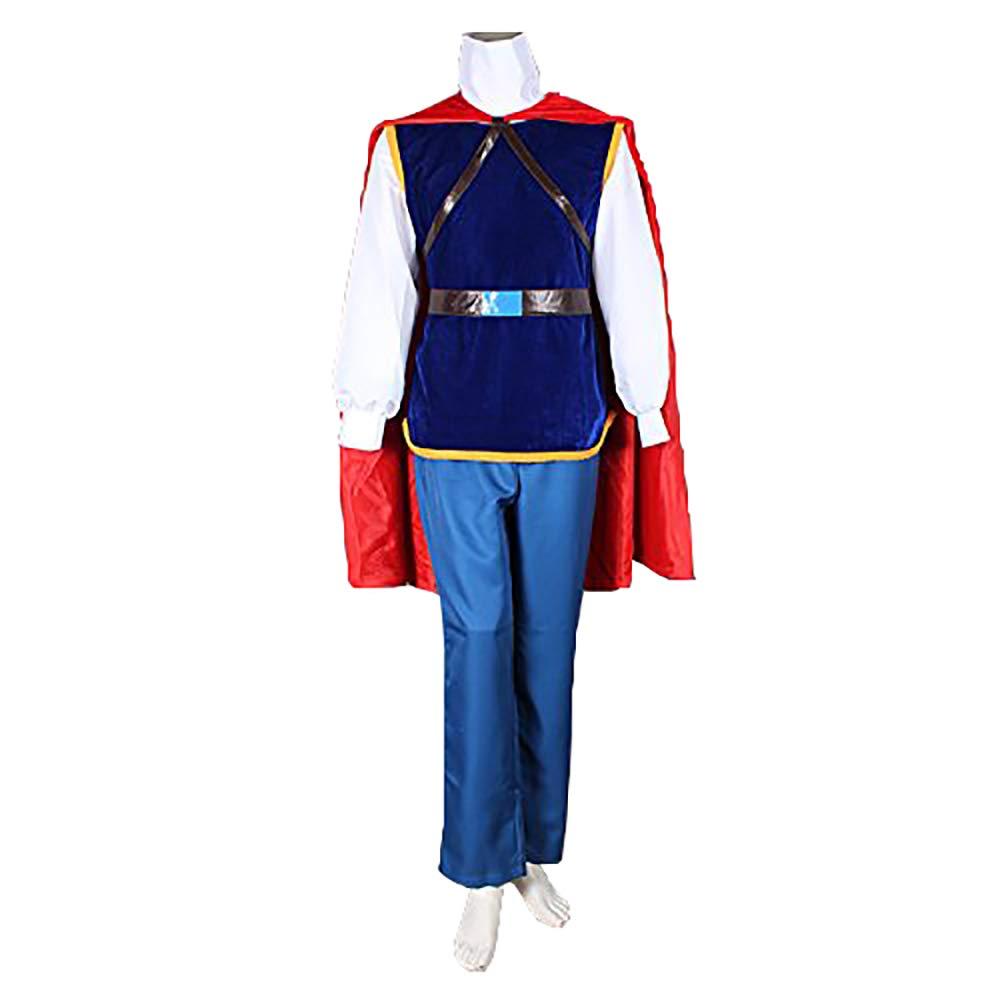 ハロウィンとクリスマスコスプレ衣装 グリム童話 白雪姫王子様 ディズニー風 コスプレ コスチュームW-XXL B00RLCXFSE W-XX-Large  W-XX-Large