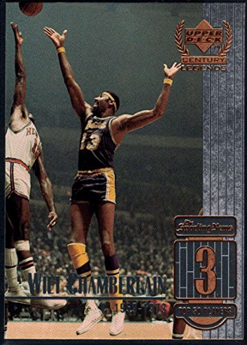 Basketball NBA 1999-00 Upper Deck Century Legends #3 Wilt Chamberlain NM-MT Lakers