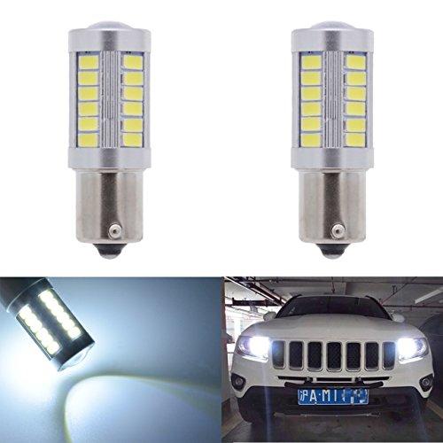 KATUR-2pcs-1156-BA15S-1141-7056-5630-33-SMD-White-900-Lumens-8000K-Super-Bright-LED-Turn-Tail-Brake-Stop-Signal-Light-Lamp-Bulb-12V-36W