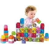 Fisher-Price Little People Builders Stack 'n Learn Alphabet Blocks