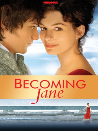 amazon com  becoming jane  anne hathaway  james mcavoy
