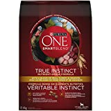 Purina ONE True Instinct Natural Dry Dog Food; Turkey & Venison Formula - 12.4 kg Bag