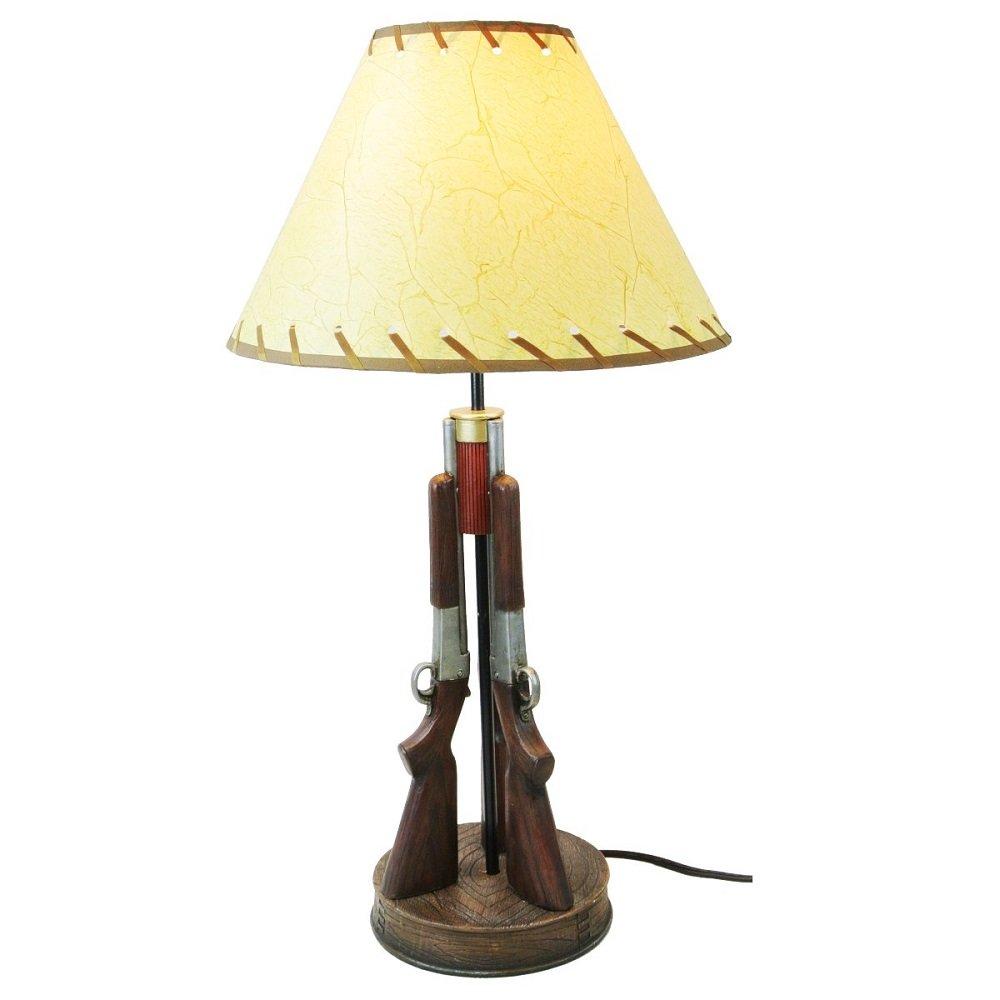 Western Shotgun 23'' Table Desk Lamp Light - Gun Lamp Hunter Cowboy Cabin Guns by DeLeon Collections