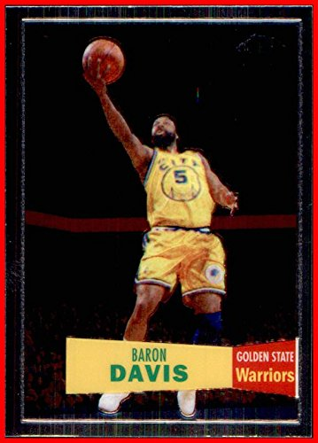 Baron Warriors Davis (2007-08 Topps Chrome 1957-58 Variations #71 Baron Davis GOLDEN STATE WARRIORS)