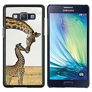 Stuss Case / Funda Carcasa protectora - Beso dulce África bebé Madre - Samsung Galaxy A5 ( A5000 ) 2014 Version