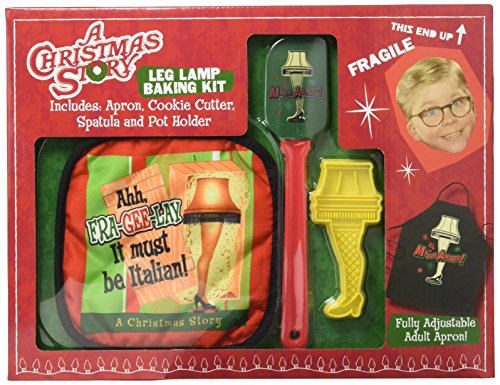 Lamp From Christmas Story Costume (ICUP 15641 A Christmas Story Leg Lamp Baking Kit,)