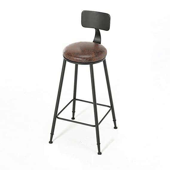 Amazon.com: Fashion American Style Iron Art Bar Chair Retro ...
