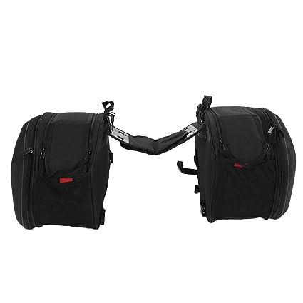 Bolsas de sillín de moto, bolsa de asiento trasero de ...