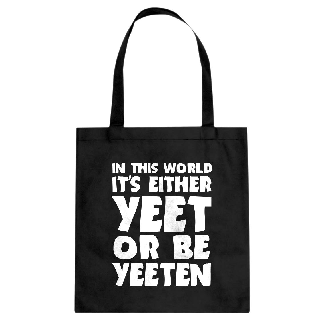 Indica Plateau Yeet or by Yeeten Cotton Canvas Tote Bag