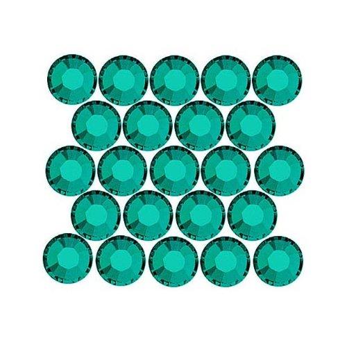 SWAROVSKI ELEMENTS Flatback Crystal Rhinestones #2028 SS9 Blue Zircon (72) ()