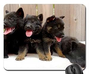 BLACK BEAUTIES Cute Cool Decorative Design Animal Dog Mousepad