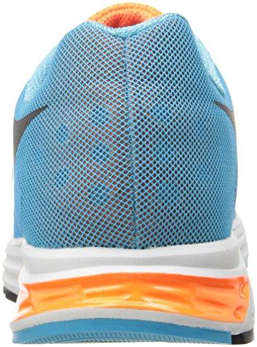 Diadora Mens Karuka Scarpa Da Skateboard Blu Fluorescente / Arancio Fluorescente
