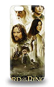 Iphone 6 Plus American The Lord Of The Rings The Two Towers Fantasy Adventure Print High Quality Tpu Gel Frame Case Cover