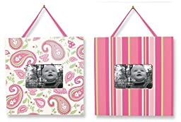 Trend Lab Two Picture Frame Set in Paisley Park