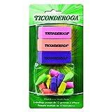 Dixon Ticonderoga 38931 Office and School Combination Set, 15 Eraser Multi-Pack, Multicolored