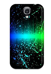Awesome Design Colors Explosion Hard Case Cover For Galaxy S4