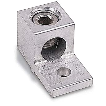 1 AWG Locking Anti-Rotating Stackable Lugs Tinned Copper 3//8/'/' Stud Size