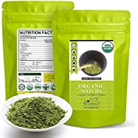 Organic Matcha Green Tea Powder 3.52-oz Bag