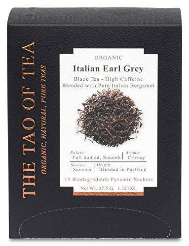 The Tao of Tea Italian Earl Grey Box Pyramid Sachets, 1.32 ()