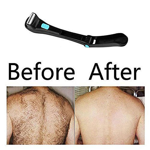 Teepao Back Hair Removal and Body Shaver for Men and Women,Easy to Use Extra-Long Handle for a Close,Pain-Free Shave,Perfect for Dry & Wet Use